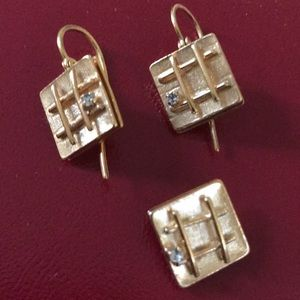 Jewelry - Vintage earrings & Pendant Set